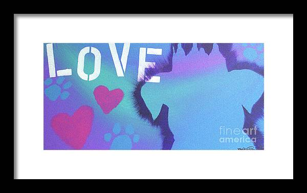 Pitbull Framed Print featuring the painting King Of My Heart by Melissa Goodrich