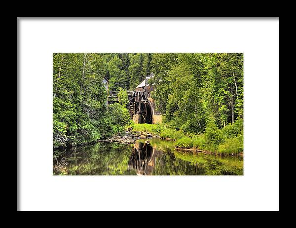 Mill Framed Print featuring the photograph King's Landing Old Mill  by Levin Rodriguez
