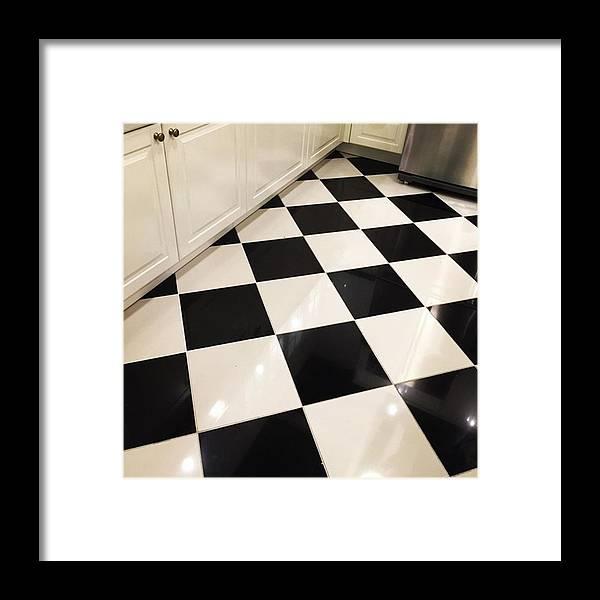 Miamiphotographer Framed Print featuring the photograph Kitchen Floor #juansilvaphotos by Juan Silva