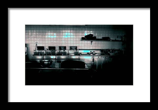 Interiors Framed Print featuring the photograph Kitchen by Michael Morrison