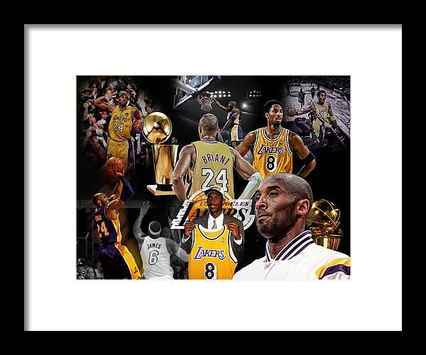 Kobe Bryant Career by Nicholas Legault