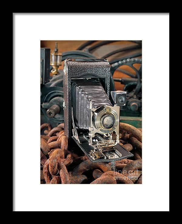 Camera Framed Print featuring the photograph Kodak No. 3a Autographic Camera by Martin Konopacki