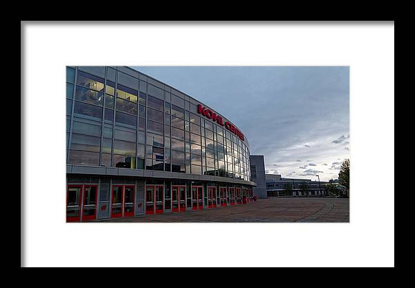 Sports Framed Print featuring the photograph Kohl Center by Rockland Filmworks