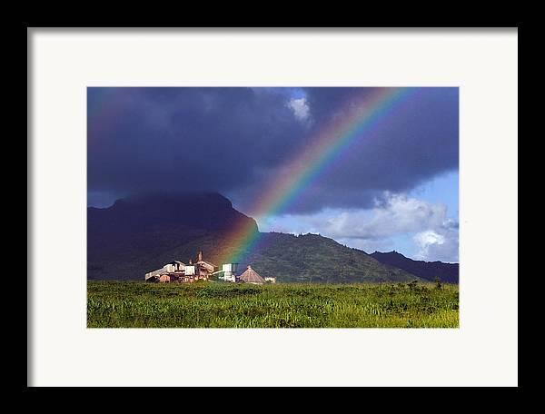 Koloa Mill Framed Print featuring the photograph Koloa Mill by Nick Galante