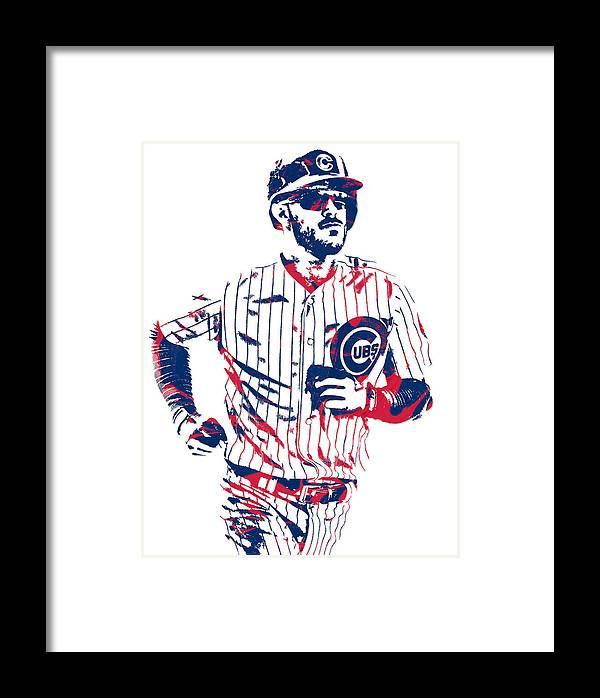 7d0042942e8 Kris Bryant Chicago Cubs Pixel Art 11 Framed Print by Joe Hamilton