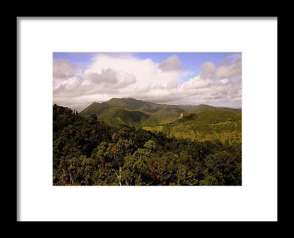 Hills Framed Print featuring the photograph Kuranda Queensland by Tony Brown