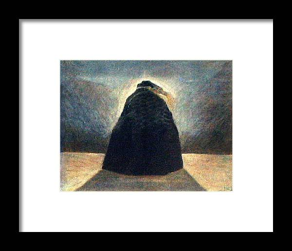 Figure Framed Print featuring the painting La Bruja by James LeGros