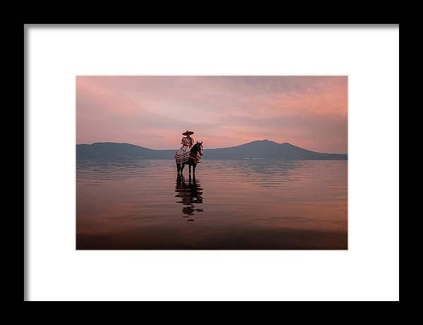 Mexico Framed Print featuring the photograph La Charra by Dane Strom