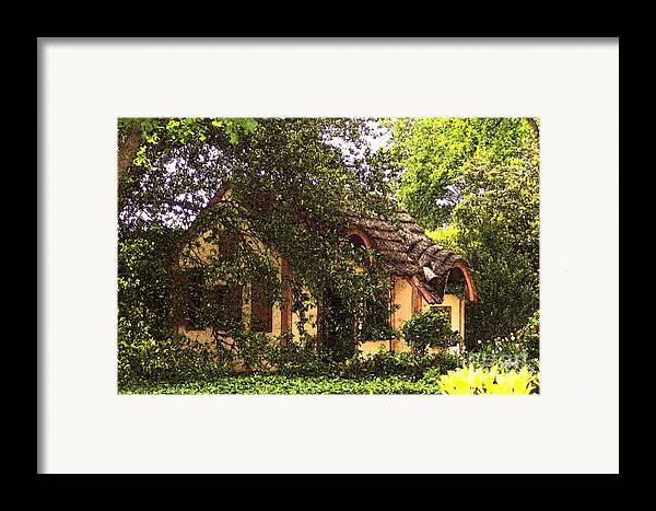 Cottage Framed Print featuring the photograph La Maison by Debbi Granruth