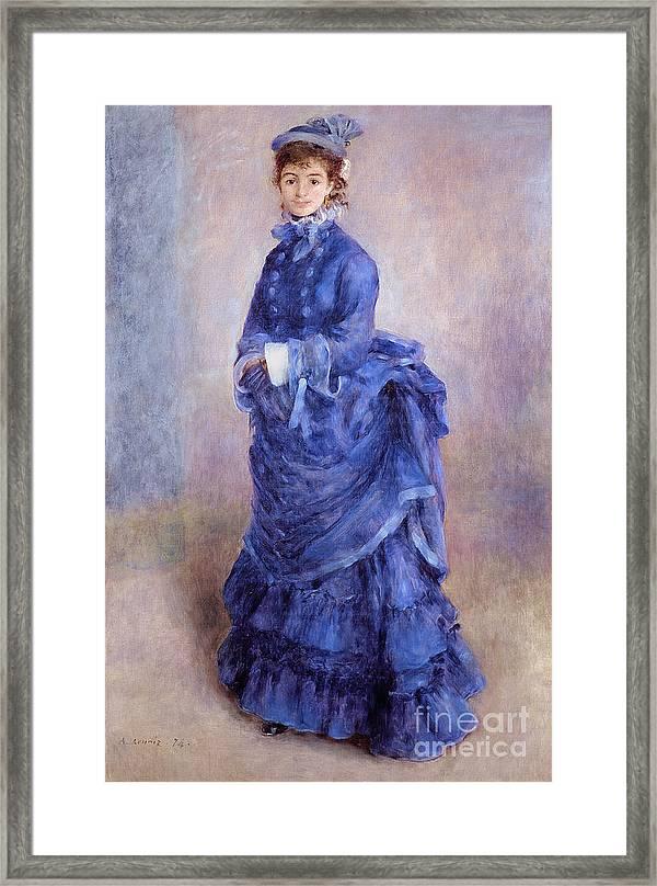 Art Print Le Bonnet Blue