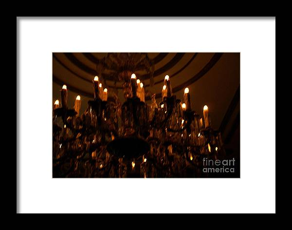 Light Framed Print featuring the photograph La Salle D'attente by Linda Shafer