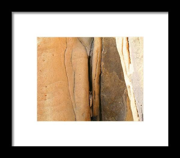 Landscape Framed Print featuring the photograph Labia Pietra by Dorota Nowak