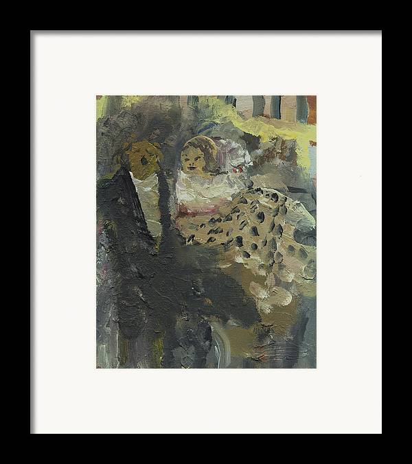 Opera Framed Print featuring the painting Laboheme Act 3 Parkscene by Bill Collins