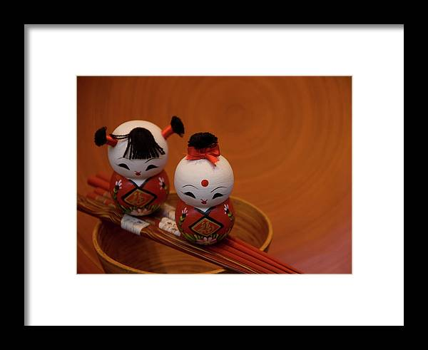 Dolls Framed Print featuring the photograph Ladies Of The Rising Sun by Marcus L Wise
