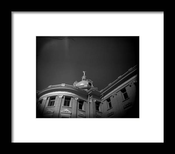 Holga Framed Print featuring the photograph Lady Justice by Paul Anderson