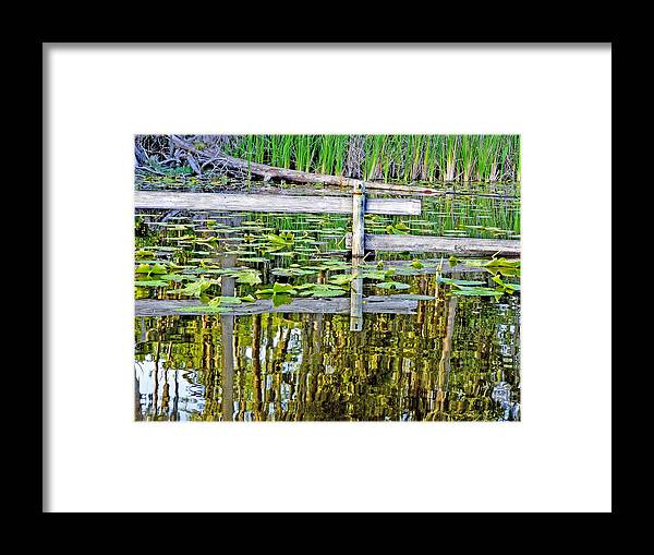 Lake Framed Print featuring the photograph Lago Valla by Robert OP Parrish