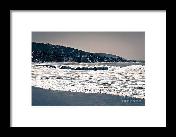 America Framed Print featuring the photograph Laguna Beach California Photo by Paul Velgos