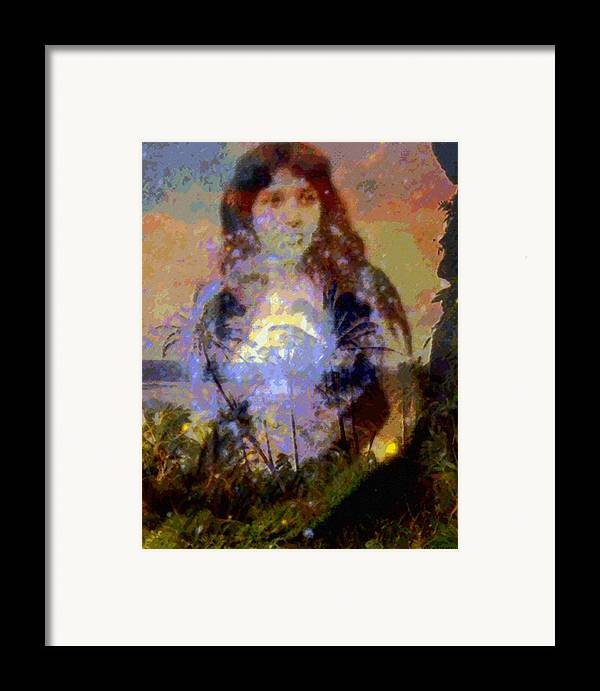 Rainbow Colors Digital Framed Print featuring the photograph Laka Hula Akua by Kenneth Grzesik