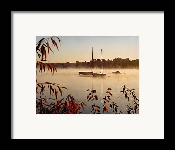 Landscape Framed Print featuring the photograph Lake Calhoun by Kathy Schumann