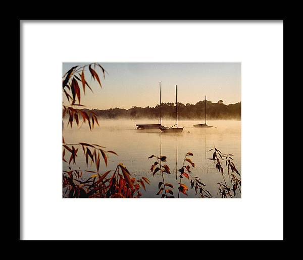 Landscape Framed Print featuring the photograph Lake Calhoun by Kathy Schumann