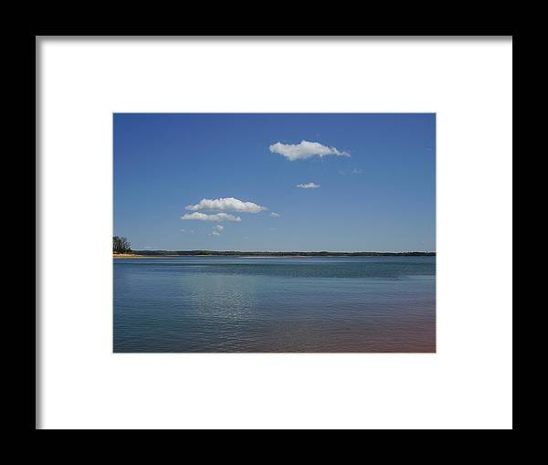 Lake Hartwell Framed Print featuring the photograph Lake Hartwell by Flavia Westerwelle