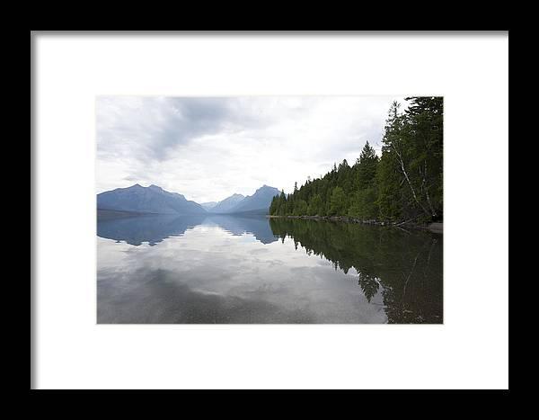 Lake Macdonald Framed Print featuring the photograph Lake Macdonald Reflection by Stephen Schwiesow