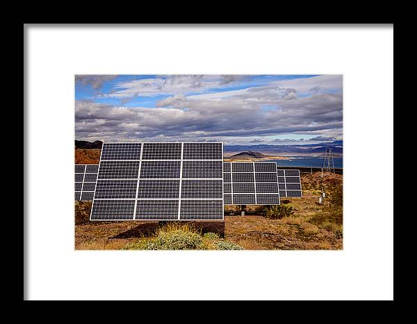 Nevada Framed Print featuring the photograph Lake Mead by Smadar Sonya Strauss