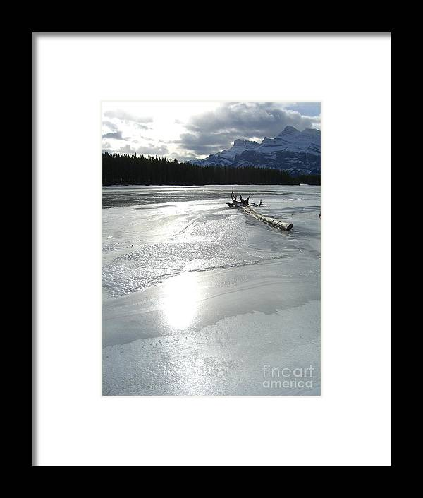 Lake Framed Print featuring the photograph Lake Miniwanka by Jim Thomson