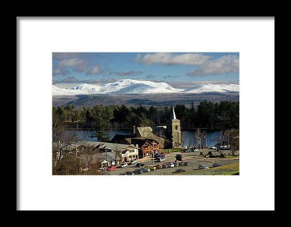 Lake Placid Framed Print featuring the photograph Lake Placid Ny by James Jenks