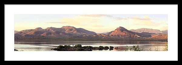 Photography Framed Print featuring the photograph Lake Roosevelt by Sharon Broucek