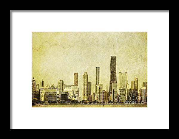 Chicago Framed Print featuring the photograph Lakeside Views by Andrew Paranavitana