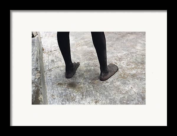 Feet Framed Print featuring the photograph Lamu Feet by Marcus Best