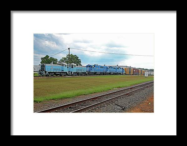 Lancaster And Chester Railroad Framed Print featuring the photograph Lancaster Chester 9/12 D by Joseph C Hinson Photography