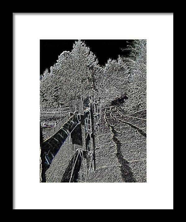 Landscape Framed Print featuring the photograph Landscape 1 by Vijay Sharon Govender