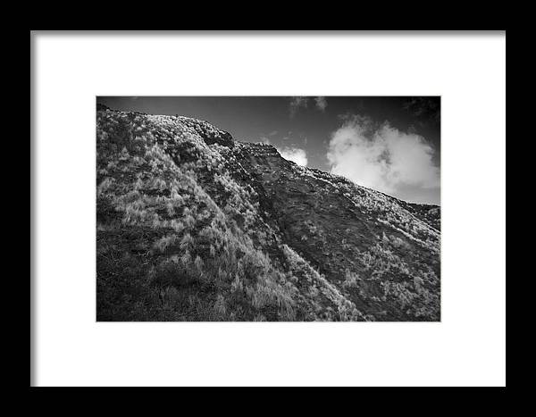 Mountain Framed Print featuring the photograph Landscape by Wes Shinn