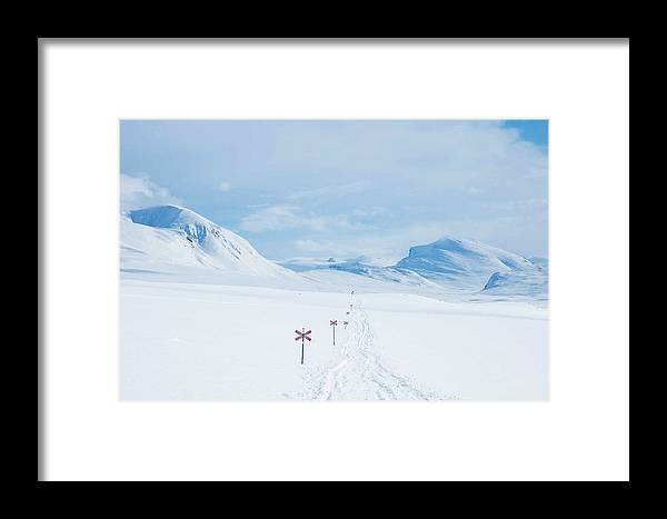 Lapland Framed Print featuring the photograph Lapland by Elisa Locci