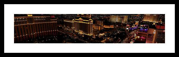 City Framed Print featuring the photograph Las Vegas Strip I by Michele Stoehr
