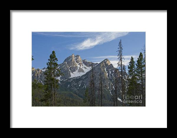 Majestic Framed Print featuring the photograph Last Light On Mcgowan by Idaho Scenic Images Linda Lantzy