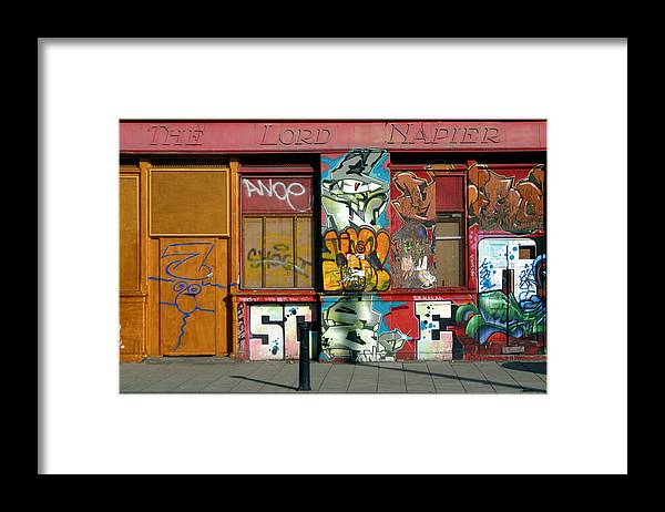 Jez C Self Framed Print featuring the photograph Last Orders by Jez C Self