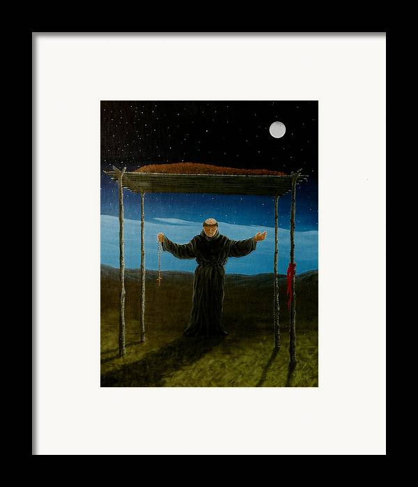 Ceremony Framed Print featuring the painting Last Rites by Arnold Isbister