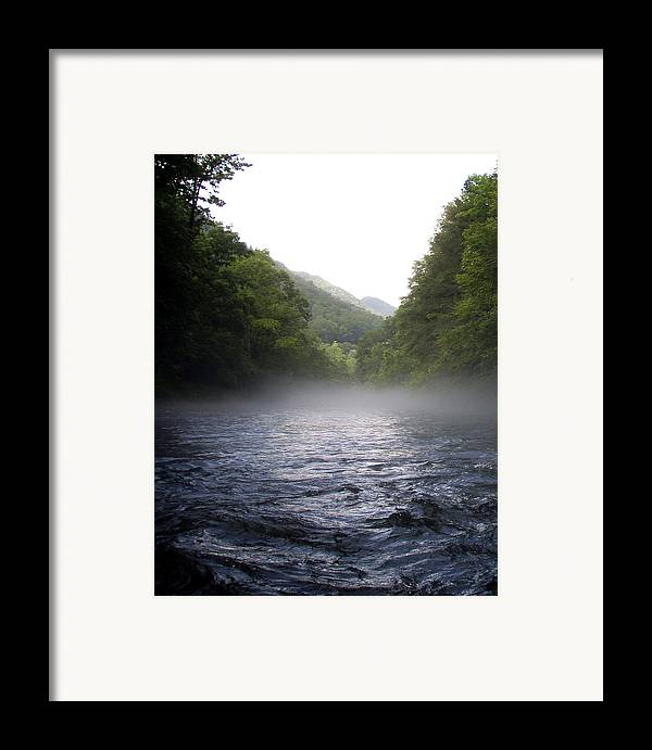 River Framed Print featuring the photograph Last Run by Jessica Breen