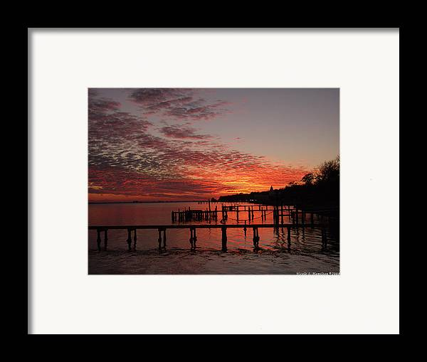 Sunset Framed Print featuring the photograph Late In The Day by Nicole I Hamilton