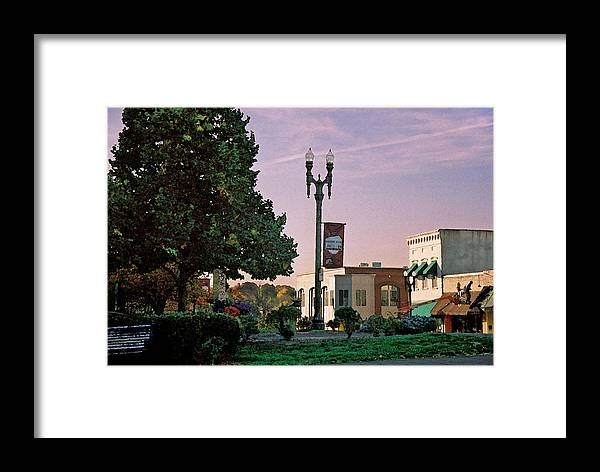 Landscape Framed Print featuring the photograph Late Sunday Afternoon by Steve Karol