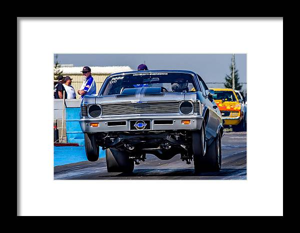 Automobile Framed Print featuring the photograph Launching Nova by Bill Gallagher