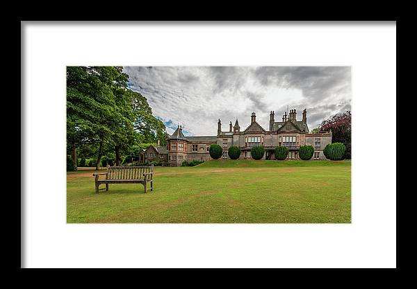 Castle Framed Print featuring the photograph Lauriston Castle by Fabio Gomes Freitas