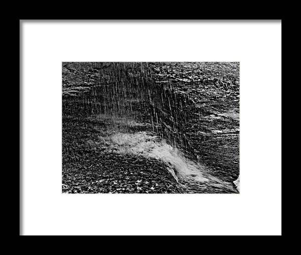 Falls Framed Print featuring the photograph Lava Falls by Michael Bessler