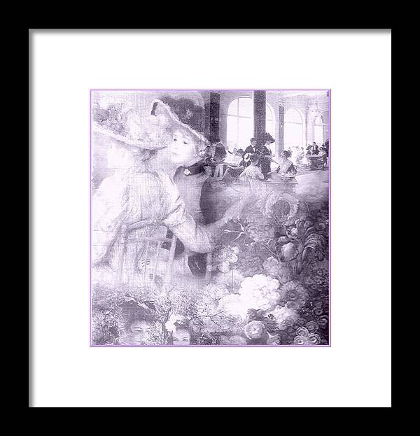 Victorian Ladies Framed Print featuring the photograph Lavender Ladies by Jacqueline Manos