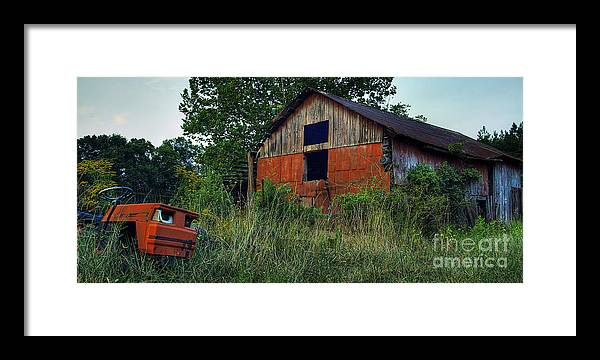 Virginia Framed Print featuring the photograph Lawn Gone by Pete Hellmann