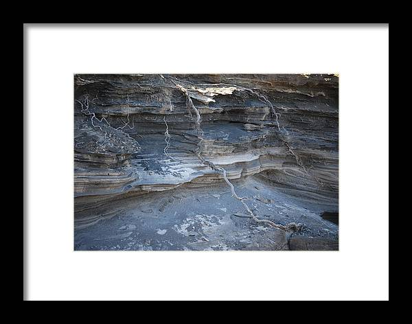 Lava Framed Print featuring the photograph Layers Of Creations by Lakida Mcnair