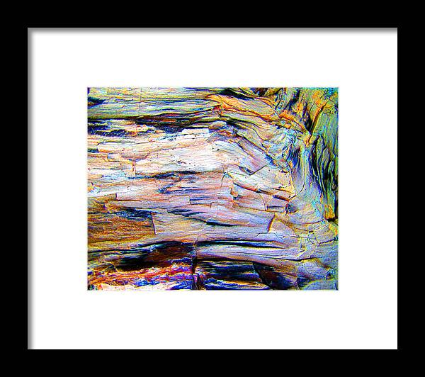 Color Framed Print featuring the photograph Layers Of Mystery by Nicole I Hamilton